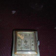 Relojes de pulsera: ANTIGUO RELOJ A CUERDA MARCA CONTY PARADO Y LE FALTAN LAS AGUJAS 3,8X3 CM. . Lote 151721502