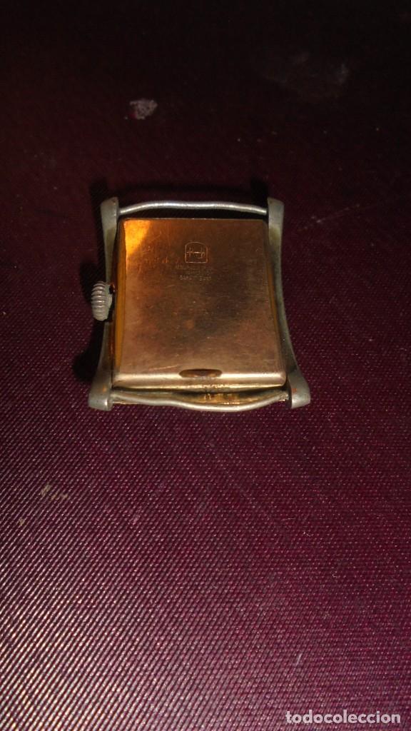 Relojes de pulsera: ANTIGUO RELOJ A CUERDA MARCA CONTY PARADO Y LE FALTAN LAS AGUJAS 3,8X3 CM. - Foto 2 - 151721502