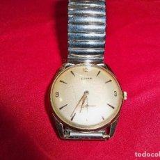 Relojes de pulsera: ANTIGUO RELOJ DE CUERDA CYMA CON SEGUNDERO,15 RUBIS, MADE IN SWISS . Lote 152051086