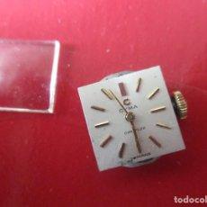 Relojes de pulsera: MAQUINA DE RELOJ DE SEÑORA MARCA CYMA. Lote 152323350