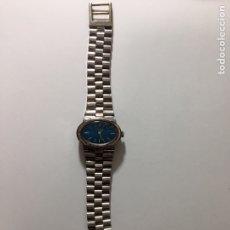 Relojes de pulsera: RELOJ SEÑORA LINTHOR PLATA 800 - AÑOS 60. Lote 152343021