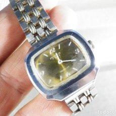 Relojes de pulsera: ANTIGUO Y GRAN FESTINA SUIZO AÑOS 60 MECANICO ACERO INOX FUNCIONA LOTE WATCHES. Lote 152351394
