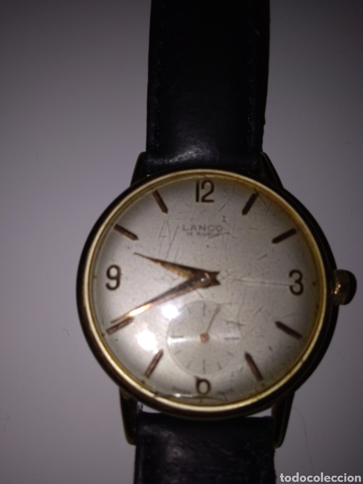 RELOJ LANCO VINTAGE CABALLERO (Relojes - Pulsera Carga Manual)