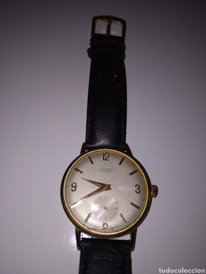 Relojes de pulsera: RELOJ LANCO VINTAGE CABALLERO - Foto 2 - 152370354