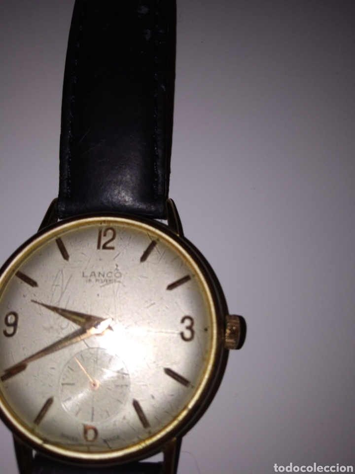 Relojes de pulsera: RELOJ LANCO VINTAGE CABALLERO - Foto 3 - 152370354