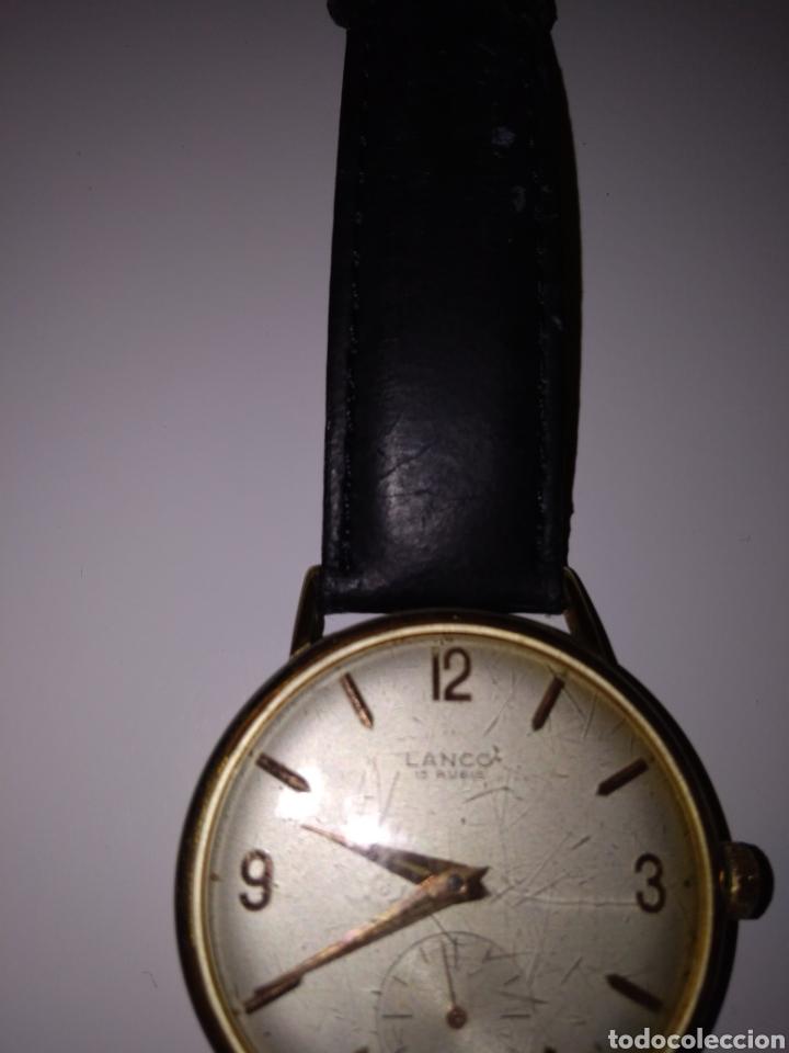 Relojes de pulsera: RELOJ LANCO VINTAGE CABALLERO - Foto 4 - 152370354