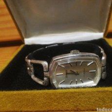Relojes de pulsera: PRECIOSO RELOJ EXACTUS COMPLETAMENTE DE PLATA, DE SEÑORA. DE CUERDA.. Lote 152465228
