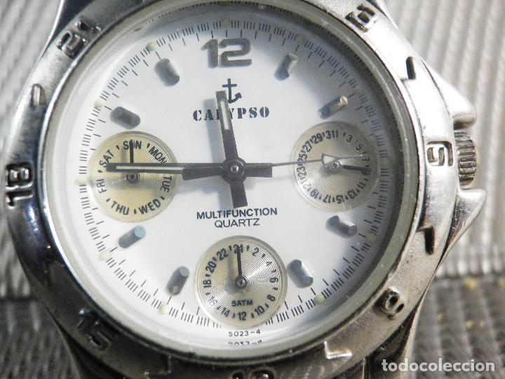 b1614e687136 DEPORTIVO CALYPSO MULTIFUNCION DE LOTUS UNISEX AÑOS 90 WR50 METROS LOTE  WATCHE (Relojes - Pulsera