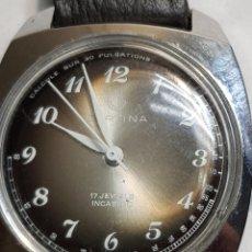 Relojes de pulsera: RELOJ ANTIGUO DE CUERDA CERTINA FUNCIONANDO ESCASO. Lote 152813770