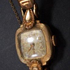 Relojes de pulsera - Antiguo reloj pulsera de señora plaque or L de 20 microns - 152937998