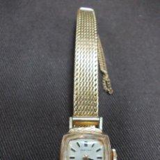 Relojes de pulsera: ANTIGUO RELOJ DE SEÑORA CERTINA CHAPADO EN ORO DE BUENA CALIDAD. Lote 152938418