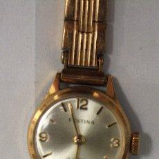 Relojes de pulsera: RELOJ MUJER FESTINA 17 JEWELS. SWISS MADE. AÑOS 40-50. Lote 153059558