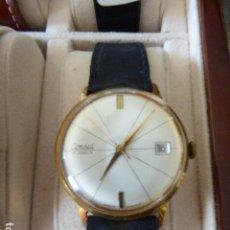 Relojes de pulsera: RELOJ DE PULSERA CONSUL. 17 RUBIES. CHAPADO EN ORO. FUNCIONANDO. CHECOSLAVAQUIA.. Lote 153187510