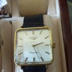 Relojes de pulsera: RELOJ DE PULSERA LONGINES. TÜRLER. FLAGSHIP. CHAPADO EN ORO. FUNCIONANDO.. Lote 153188570