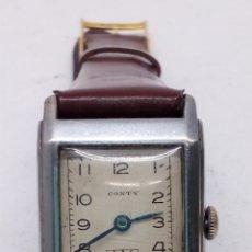 Relojes de pulsera: RELOJ CONTY CARGA MANUAL EN FUNCIONAMIENTO ANTIGUO. Lote 153195921