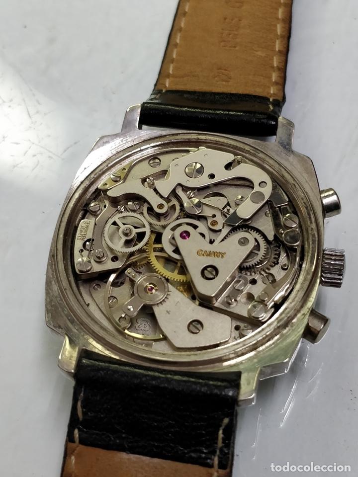 Relojes de pulsera: RELOJ CAUNY SWISS CRONOMETRO WATERPROOF ANTICHOC 17 RUBIS - Foto 11 - 53178252