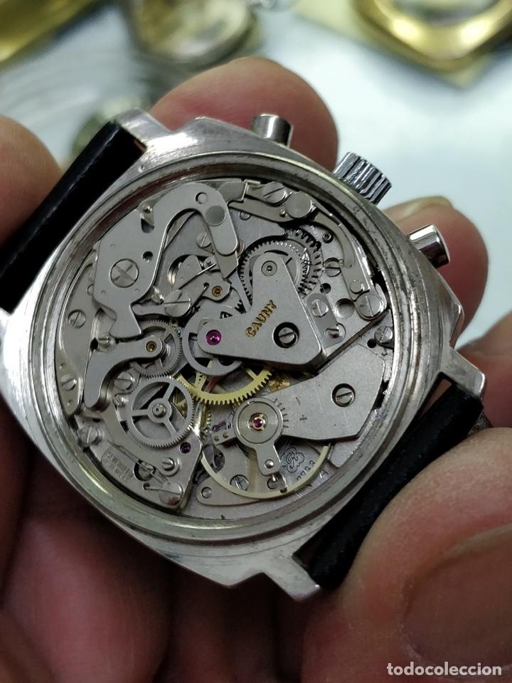 Relojes de pulsera: RELOJ CAUNY SWISS CRONOMETRO WATERPROOF ANTICHOC 17 RUBIS - Foto 5 - 53178252