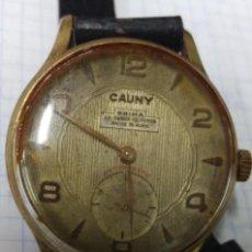 Relojes de pulsera: RELOJ CAUNY PRIMA 15 RUBIS FUNCIONANDO. Lote 153227418