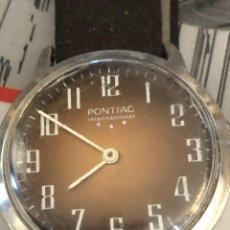 Relojes de pulsera: ANTIGUO RELOJ PONTIAC INTERNACIONAL 3 ESTRELLAS ,INMACULADO PARA SU EDAD. Lote 53765086