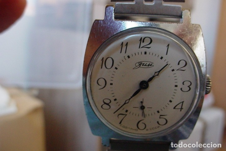 Relojes de pulsera: Reloj manual Sovietico Zim Pobeda - Foto 5 - 153452126