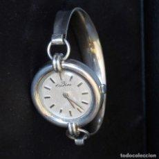 Relojes de pulsera: RELOJ PULSERA PLATA FUNCIONANDO A ESTRENAR. Lote 153479466