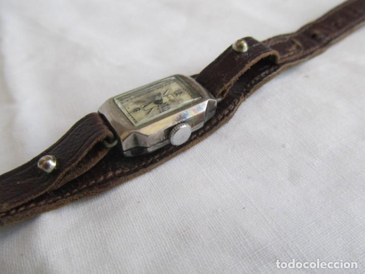 Relojes de pulsera: Reloj de señora Sil en plata funcionando - Foto 4 - 153537206