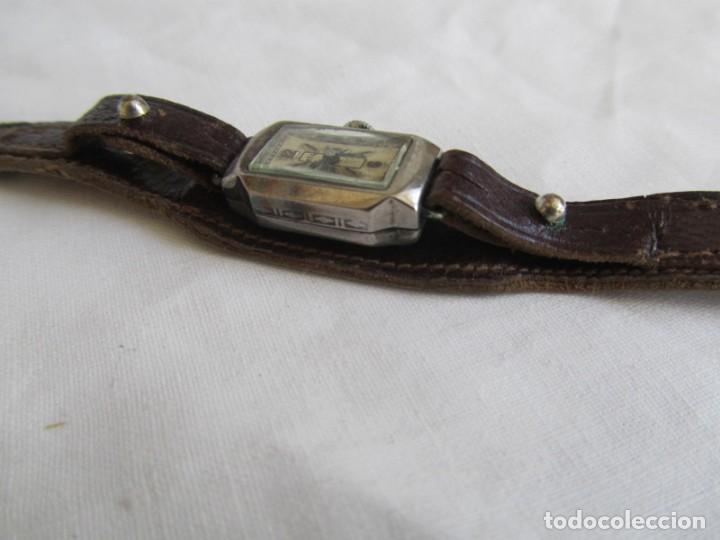 Relojes de pulsera: Reloj de señora Sil en plata funcionando - Foto 5 - 153537206