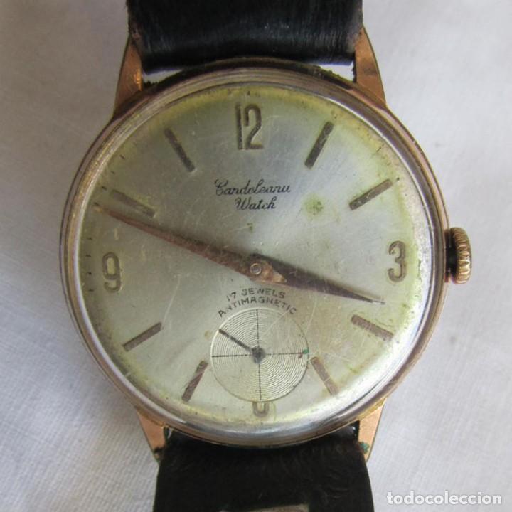 RELOJ DE PULSERA CANDELEANU WATCH FUNCIONANDO (Relojes - Pulsera Carga Manual)