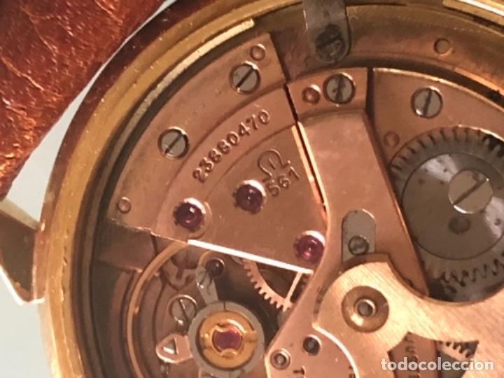 Relojes de pulsera: RELOJ OMEGA PIE PAN CONSTELLATION CAJA SUIZA ORO 18 CALIBRE 561 AÑOS 60 - Foto 20 - 114634063