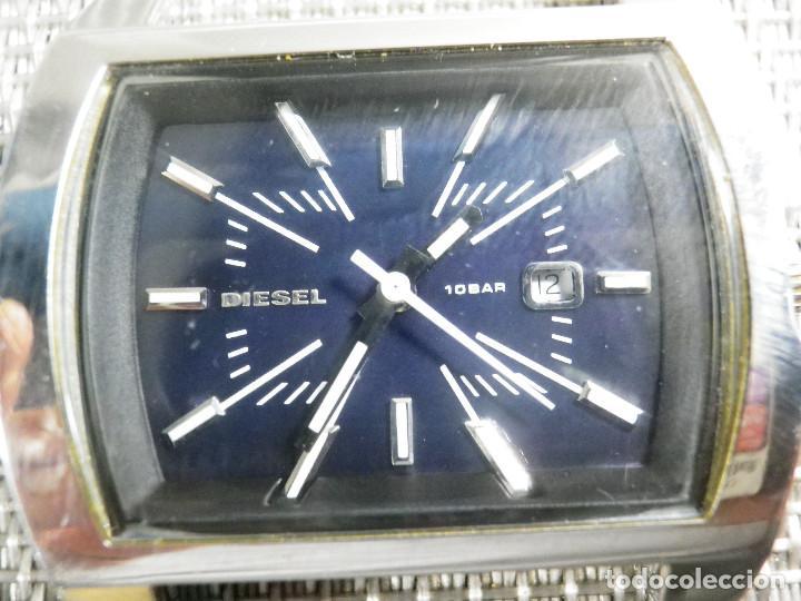 a7be8c185cda 12 fotos PRECIOSO Y ELEGANTE DIESEL DE CABALLERO ACERO INOX SUMERGIBLE 100M  LOTE WATCHES (Relojes - Pulsera ...