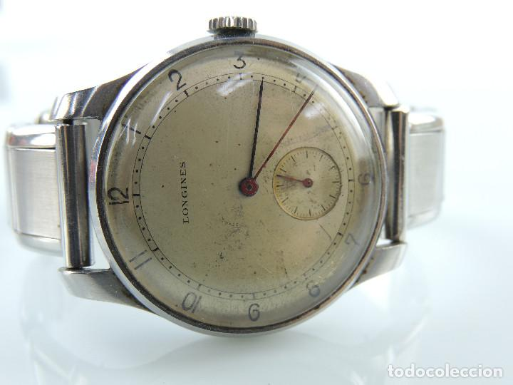 Relojes de pulsera: ANTIGUO RELOJ DE PULSERA DE HOMBRE MARCA LONGINES EXCELENTE PIEZA DE COLECCION - Foto 2 - 153820810