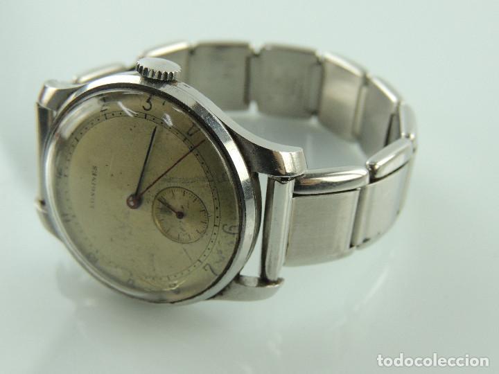 Relojes de pulsera: ANTIGUO RELOJ DE PULSERA DE HOMBRE MARCA LONGINES EXCELENTE PIEZA DE COLECCION - Foto 4 - 153820810