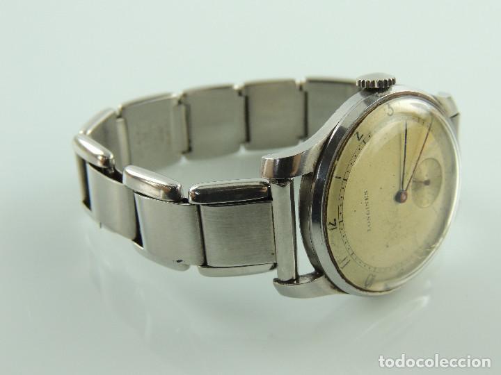 Relojes de pulsera: ANTIGUO RELOJ DE PULSERA DE HOMBRE MARCA LONGINES EXCELENTE PIEZA DE COLECCION - Foto 5 - 153820810