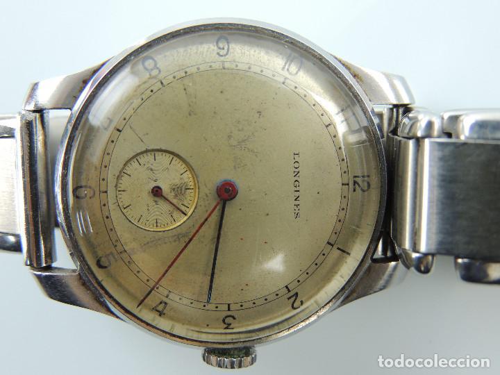 Relojes de pulsera: ANTIGUO RELOJ DE PULSERA DE HOMBRE MARCA LONGINES EXCELENTE PIEZA DE COLECCION - Foto 11 - 153820810