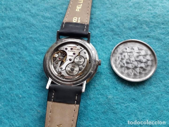 Relojes de pulsera: Reloj Marca Certina Jubilé. Clásico de Caballero. Funcionando. - Foto 5 - 153837078