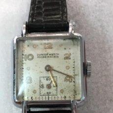 Relojes de pulsera: RELOJ JUNIOR WATCH ART DECO CARGA MANUAL. Lote 153927442
