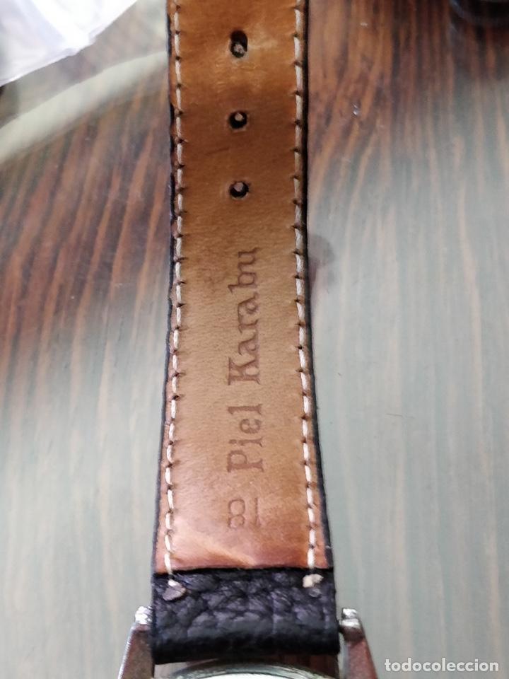 Relojes de pulsera: Antigo reloj MOVADO de acero inoxidable, 15 rubies, CAL. 75 Esfera 3,5 cm. - Foto 8 - 155058290