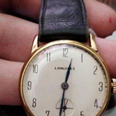 Relojes de pulsera: ANTIGUO RELOJ LONGINES DE ORO 18K MOVIMIENTO 13,34, 32MM DE CAJA.. Lote 155060130