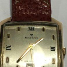 Relojes de pulsera: RELOJ EDOX FUNCIONA MUY BIEN MAQUINARIA SUIZA ORIGINAL MODELO RARO. Lote 155126874