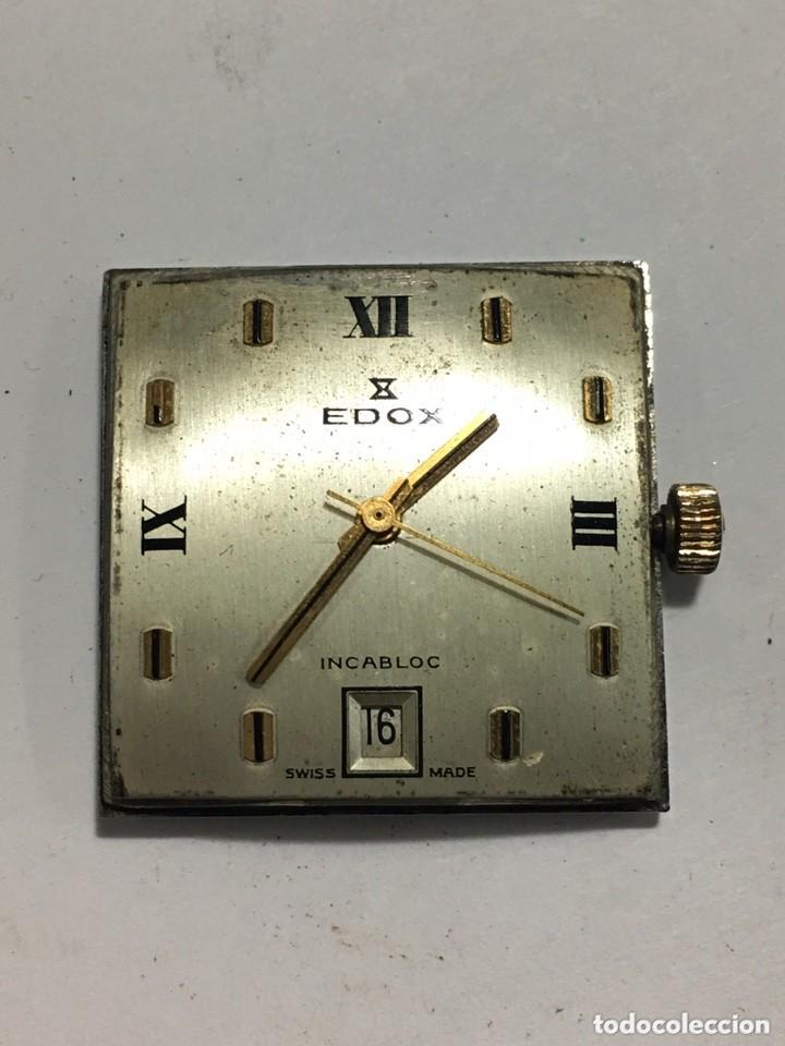 Relojes de pulsera: Reloj EDOX FUNCIONA MUY BIEN MAQUINARIA SUIZA ORIGINAL MODELO RARO - Foto 3 - 155126874