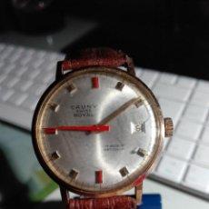 Relojes de pulsera: ANTIGUO RELOJ CAUNY SWISS ROYAL. Lote 155268750
