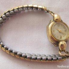 Relojes de pulsera: RELOJ DE CUERDA ANTIGUO SANFORD PLAQUE ORO. Lote 155359510
