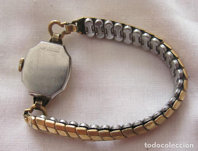 Relojes de pulsera: RELOJ DE CUERDA ANTIGUO SANFORD PLAQUE ORO - Foto 3 - 155359510