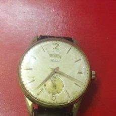 Relojes de pulsera: TECNOS FUNCIONANDO CUERDA 3.5 CAJA ANXHO. Lote 155449233