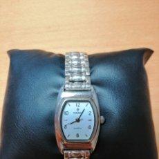 Relojes de pulsera: RELOJ ANTIGUO PLATA. MARCA CAUNY. Lote 155643621