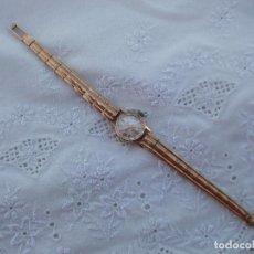 Relojes de pulsera: PRECIOSO RELOG FESTINA DE ORO DE LEY DE 18 KL AÑO 1948, CON 18 RUBÌES, PARA SEÑORA. Lote 155671730