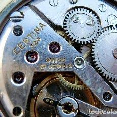 Relojes de pulsera: PRECIOSO RELOJ DE PULSERA - MARCA CERTINA - ORO 18K - MOD. 320 - 15 JEWELS - COLECCIONISTA - VINTAGE. Lote 155672566