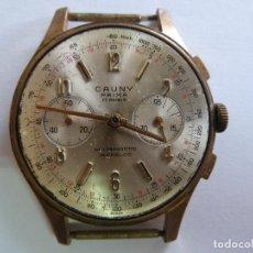 Relojes de pulsera: RELOJ ORIGINAL CAUNY PRIMA 17 RUBIS. INCABLOC . Lote 155912146
