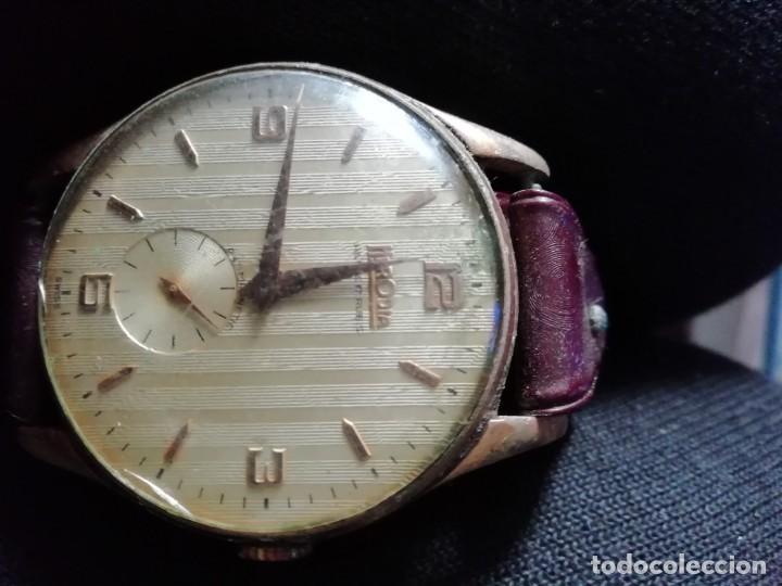ANTIGUO RELOJ HERODIA DE CUERDA FUNCIONA (Relojes - Pulsera Carga Manual)