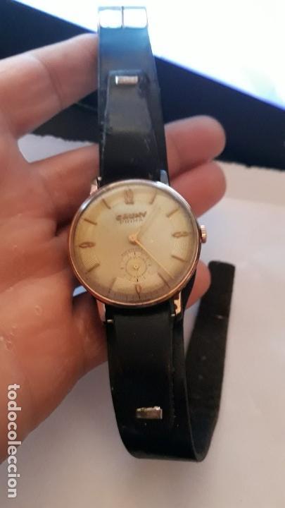 Relojes de pulsera: reloj de pulsera caballero carga manual cauny prima, funciona - Foto 2 - 156240546